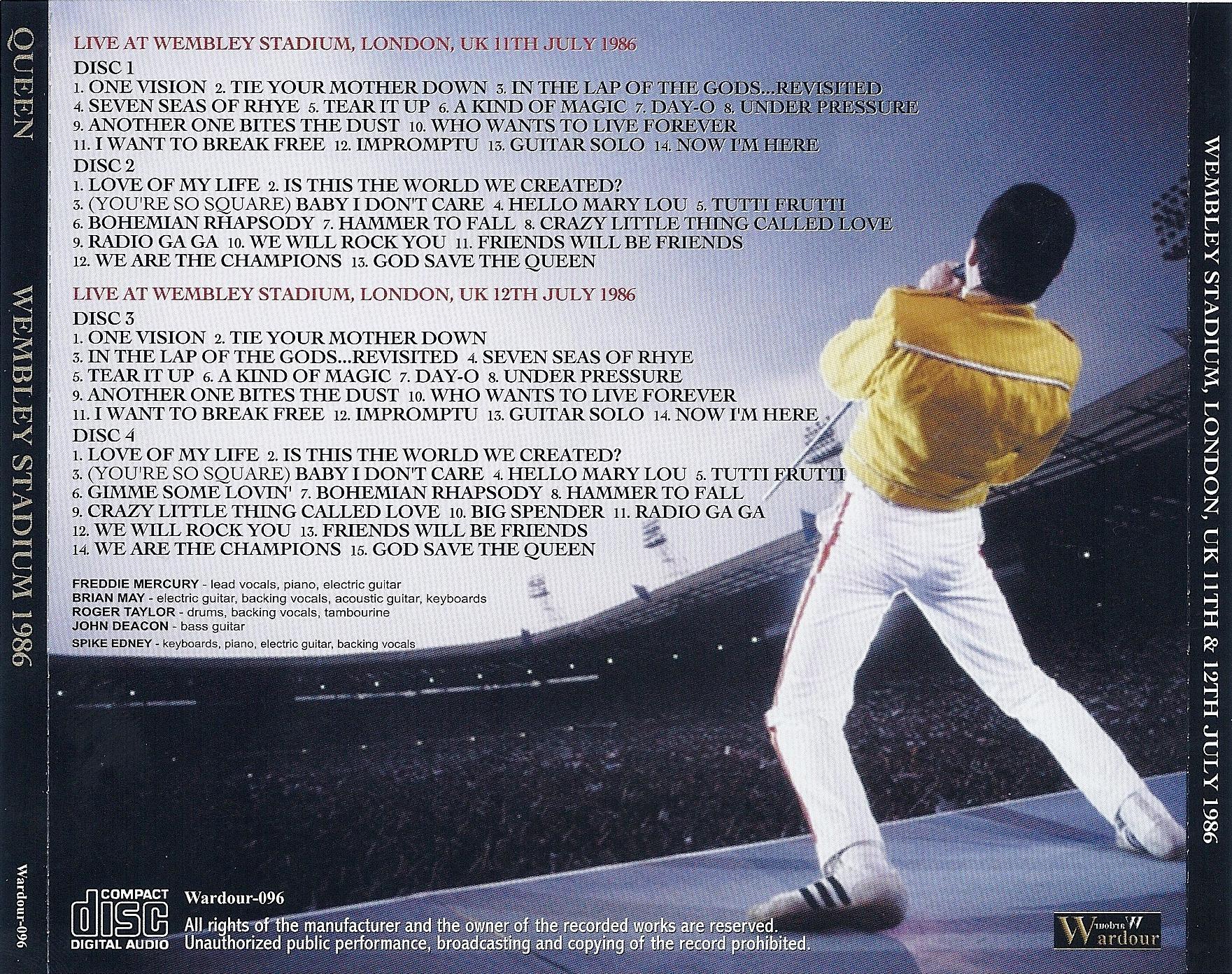 Track listing: