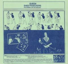 Queen - Sheetkeeckers - Recorded Live In Concert