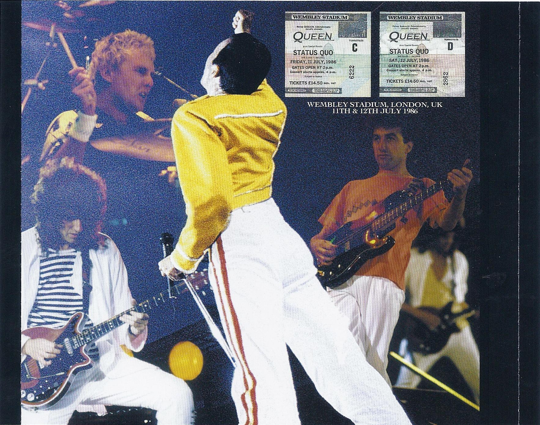 Queen - Live At Wembley '86 ( , CD) | Discogs